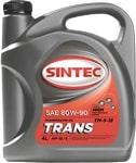 Масло трансмиссионное SINTEC Транс ТМ-5-18 80W-90 GL-5 3л