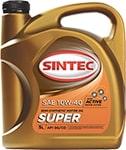Масло моторное SINTEC Супер 10W-40 SG/CD полусинтетика 4л