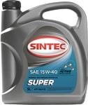 Масло моторное SINTEC Супер 15W-40 SG/CD 4л