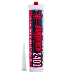 Герметик прокладок высокотемпературный ABRO SS-2400 красный 310мл