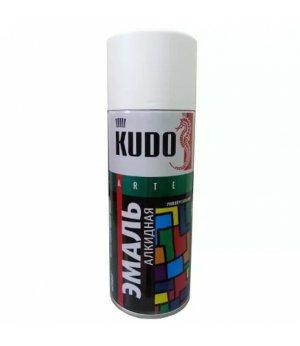 Эмаль KUDO KU-1001 белая глянцевая универсальная 520мл