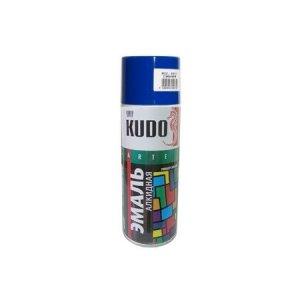 Эмаль KUDO KU-1011 синяя глянцевая универсальная 520мл