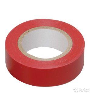 Изолента ДИАЛУЧ красная 15 мм * 20 м