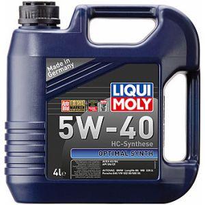 Масло моторное LIQUI MOLY Optimal Synth 5W-40 SN/CF A3/B4 2293/3926 синтетика 5л по цене 4л АКЦИЯ