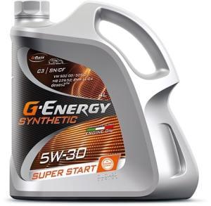 Масло моторное G-Energy Synthetic Super Start 5W-30 SN/CF 5л