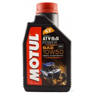 Масло моторное MOTUL 4T ATV SXS POWER 10W-50 1л