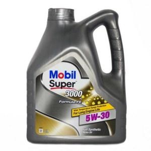 Масло моторное Mobil Super 3000×1 Formula FE 5W-30 A5/B5 SL синтетика 4л ф