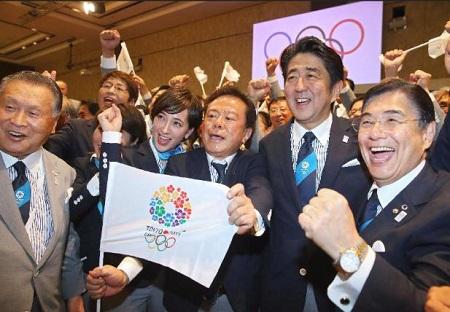 東京五輪2020決定を喜ぶ