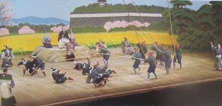 歌舞伎長短槍試合