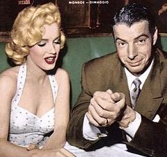 ジョー・ディマジオとマリリン・モンロー