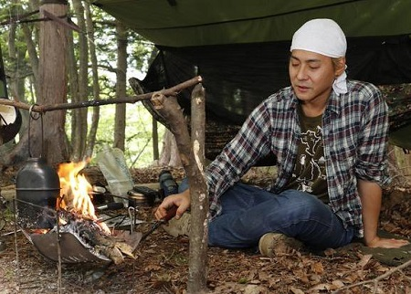 ヒロシ焚火キャンプ