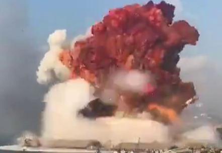 レバノン爆発事故