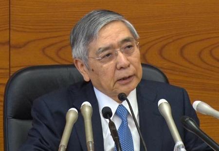 黒田日銀総裁