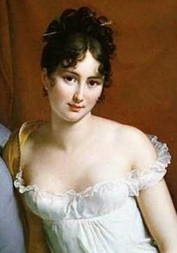 レカミエ夫人ジェラール画