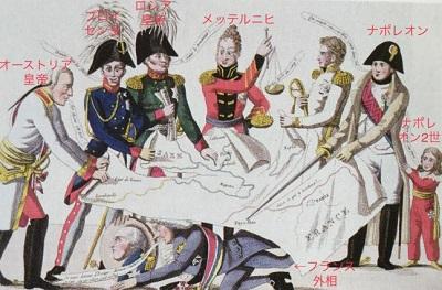 ウィーン会議風刺画
