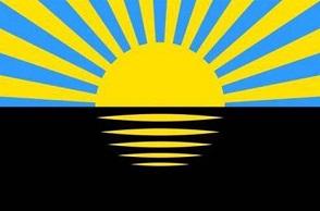 ドネツィック州(ウクライナ)旗