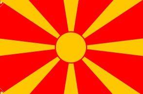北マケドニア国旗