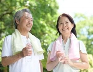 老活夫婦写真