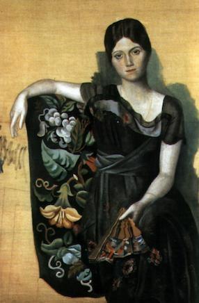 ピカソ・オルガの肖像