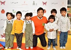 香川照之と子供たち