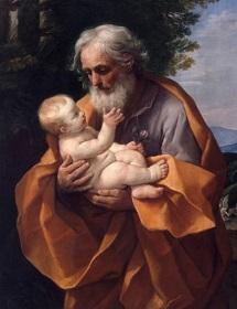 ナザレのヨセフ幼子イエス