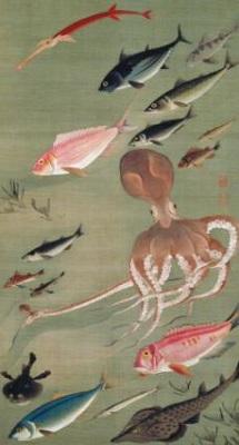 伊藤若冲・魚
