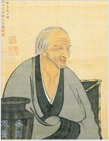 売茶翁・若冲筆