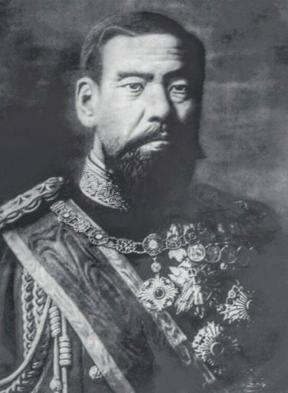 1890年ころの明治天皇
