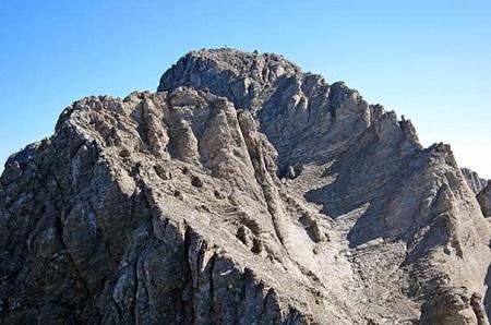 オリュンポス山頂上