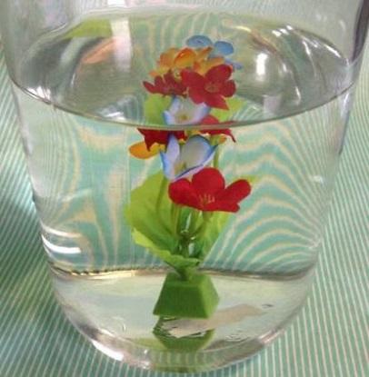 水中花・グラス