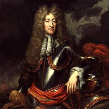 クラバットを付けたチャールズ2世