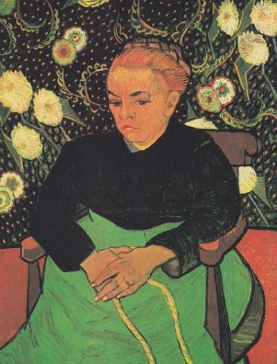 『ルーラン夫人ゆりかごを揺らす女』1889年1月、アルル。