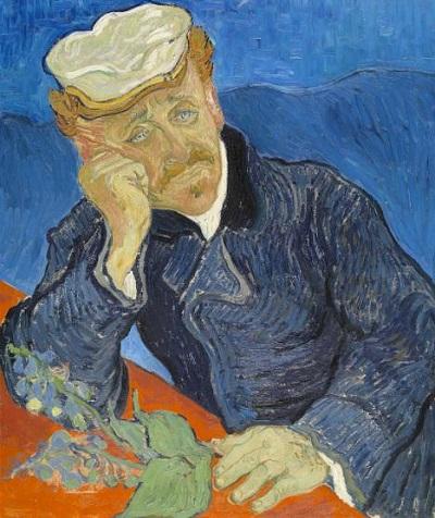 『医師ガシェの肖像』1890年6月、オーヴェル。