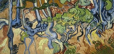 『木の根と幹』、1890年7月、オーヴェル、