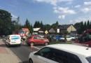 Wypadek na DK44 w Jaśkowicach