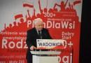 Wizyta Jarosława Kaczyńskiego w Wadowicach