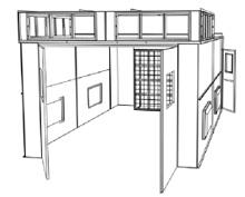 Budget Semi Down Draft : Paint Spray Booths : SKBowling.com