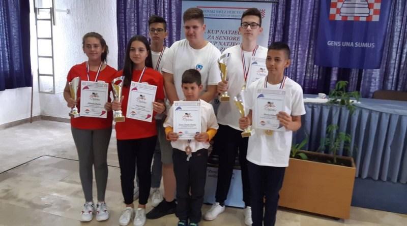Završeno 19. kadetsko i 22. juniorsko prvenstvo Šahovskog saveza Herceg-Bosne