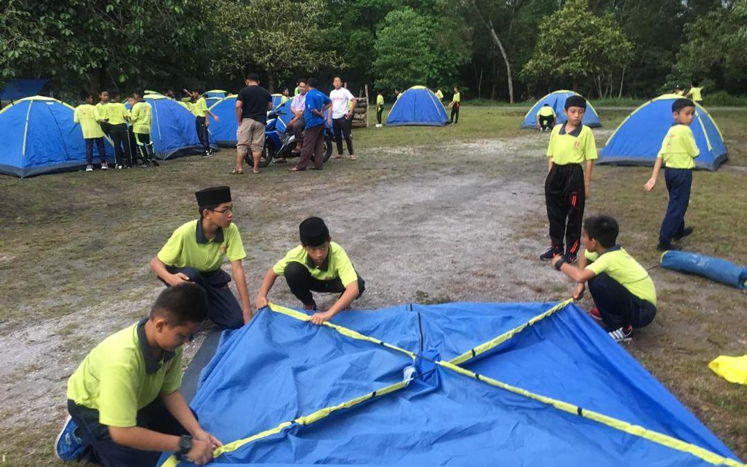 Perkhemahan Unit Beruniform SK Bukit Changgang