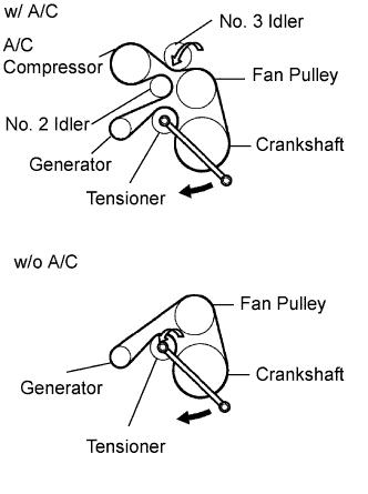 Toyota Hilux Drive Belt Diagram