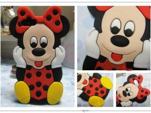 Buy Minnie Mouse Silicon Case Cover For iPhone 5