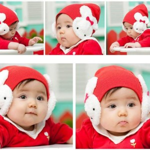 Buy Rabbit Ear Baby Cap