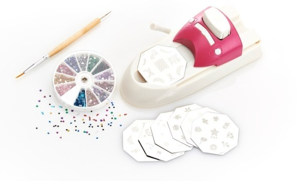 Hollywood Nails All in One Professional Nail Art System Kit