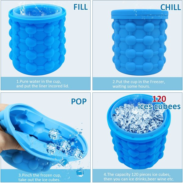Buy Silicone Ice Bucket
