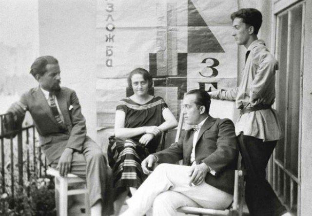 Ljubomir i Anuška Micić s Pavlom i Otom Bihalijem