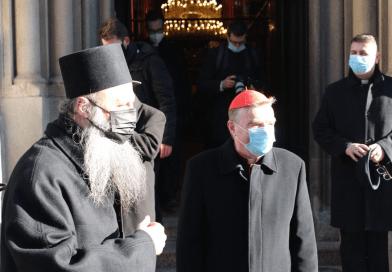 Mitropolit Porfirije i nadbiskup Bozanić u ekumenskom susretu o pomoći stradalima