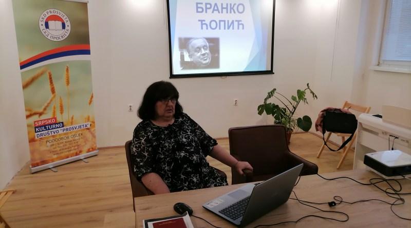 Predavanje o Branku Ćopiću u Pododboru Osijek