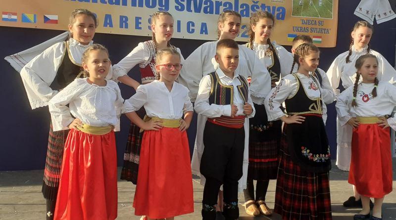 """11. SMOTRA DJEČJEG KULTURNOG STVARALAŠTVA -""""Djeca su ukras svijeta""""."""