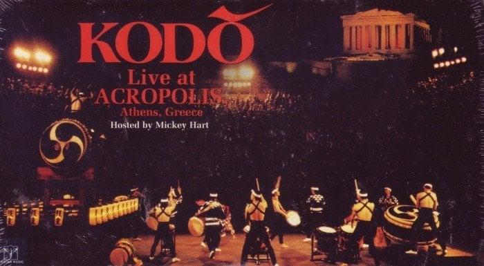 Kodo ao vivo na acrópolis, grécia