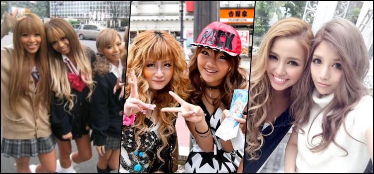 Gyaru - Conheça o estilo independente no Japão - gals 2